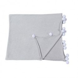 Lorena Canals babytæppe - Lys grå