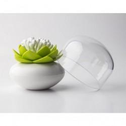 Lotus cotton bud (hvid/grØn)