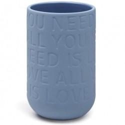 Love song vase (indigo/lille)