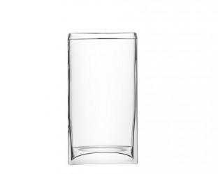 LSA International Flower vase rectangular klar 32 cm