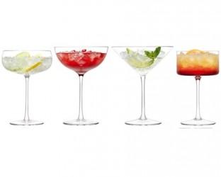 LSA International Lulu Cocktailglas 4-pak