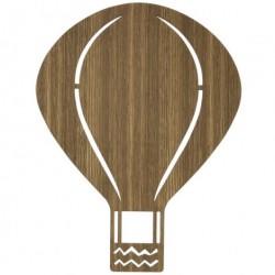 Luftballon lampe (rØget eg)