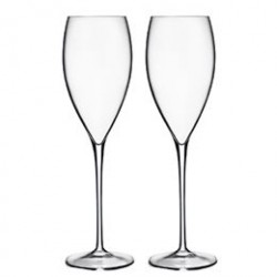 Luigi Bormioli champagneglas - Accademia Magnifico - 2 stk.
