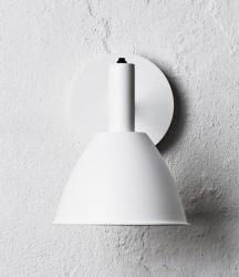 lumini Bauhaus Væglampe - Hvid