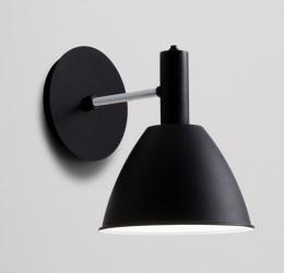 lumini Bauhaus Væglampe - Sort