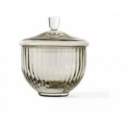 Lyngby Porcelæn Bonbonniere Smoke 8 cm