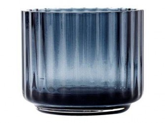Lyngby Porcelæn Fyrfadsstage Midnight Blue