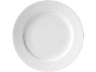 Lyngby Porcelæn Rhombe Frokosttallerken 21 cm 1 stk.