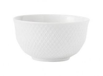 Lyngby Porcelæn Rhombe Skål Hvid 11 cm 1 stk.