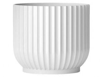 Lyngby Porcelæn Urtepotte Hvid 10,5 cm