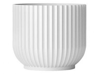 Lyngby Porcelæn Urtepotte Hvid 13 cm