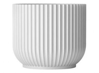 Lyngby Porcelæn Urtepotte Hvid 18,9 cm