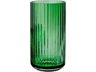 Lyngby Porcelæn Vase Grøn 20 cm
