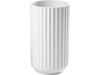 Lyngby Porcelæn Vase Hvid 15 cm