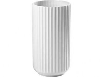 Lyngby Porcelæn Vase Hvid 20 cm