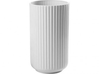 Lyngby Porcelæn Vase Hvid 25 cm