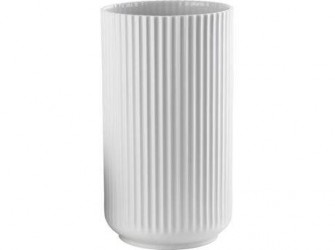 Lyngby Porcelæn Vase Hvid 31 cm