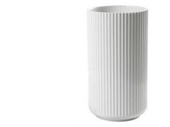 Lyngby Porcelæn Vase Hvid 38 cm