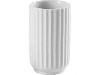 Lyngby Porcelæn Vase Hvid 8 cm