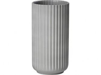 Lyngby Porcelæn Vase Lys grå 20 cm