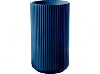 Lyngby Porcelæn Vase Midnight Blue 20 cm