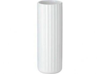 Lyngby Solitaire Vase Hvid 14 cm
