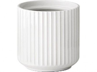 Lyngby Urtepotte Hvid 14 cm