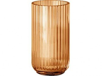 Lyngby Vase Amber 20 cm