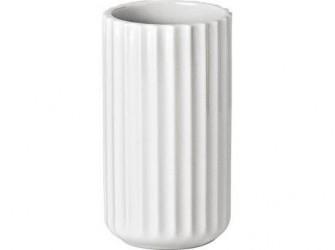 Lyngby Vase Hvid 12 cm