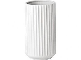 Lyngby Vase Hvid 20 cm
