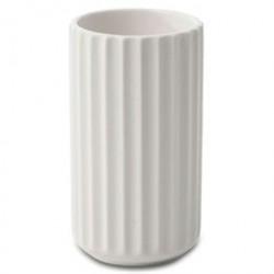 Lyngby vase - Hvid porcelæn - 12 cm