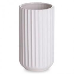 Lyngby vase - Hvid porcelæn - 15 cm