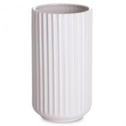 Lyngby vase - Hvid porcelæn - 20 cm