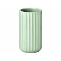 Lyngby Vase Mat grøn 9 cm
