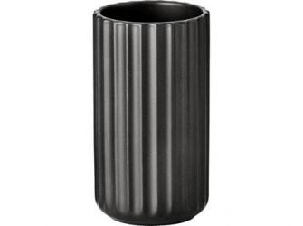 Lyngby Vase Mat sort 12 cm