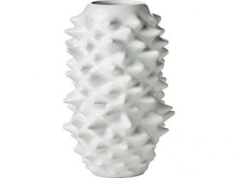 Lyngby Vesterbro Vase Hvid 20 cm