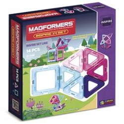 Magformers Inspire set - 14 dele