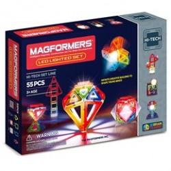 Magformers LED Lighted set - 55 dele