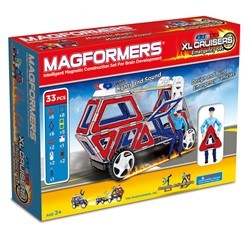 Magformers Xl Cruisers Emergency sæt 33