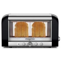 Magimix Vision toaster 2-skiver sort/stål L39,5c
