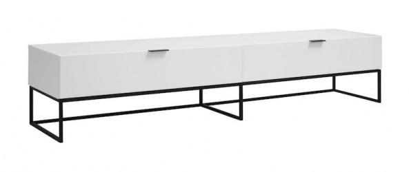 Malto Tv-bord - hvid højglans