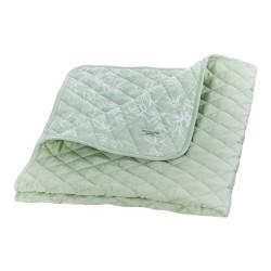 Manostiles quiltet tæppe - Nordic Zen - Soft Matcha - Grøn