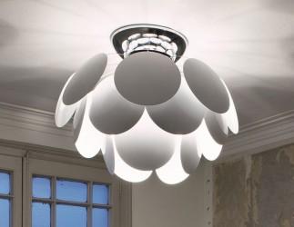 Marset Discoco Loftlampe - Hvid
