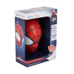 Marvel 3D Lampe med Spiderman