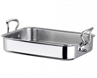 Mauviel Cook Style Ovnspande 40x30cm blank stål
