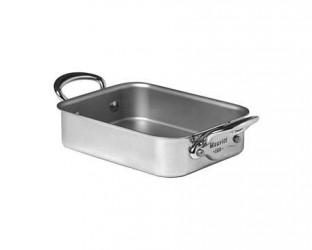 Mauviel Cook Style Ovnspande Mini 18x14cm blank stål