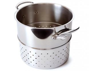 Mauviel Cook Style Pastaindsats Ø24cm blank stål