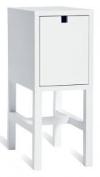 Mavis - Falsterbo Sengebord - Hvidlakeret