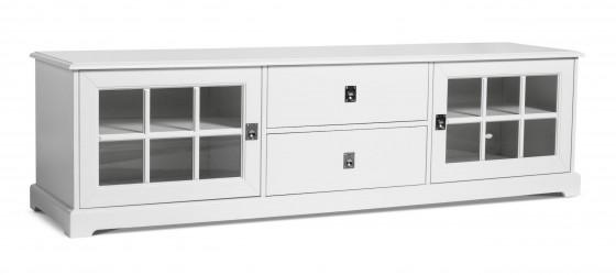 Mavis - Smögen Tv-bord - Hvidlakeret MDF