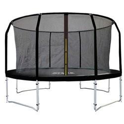 MCU Sport Pro trampolin 4,3m med sikkerhedsnet - sort